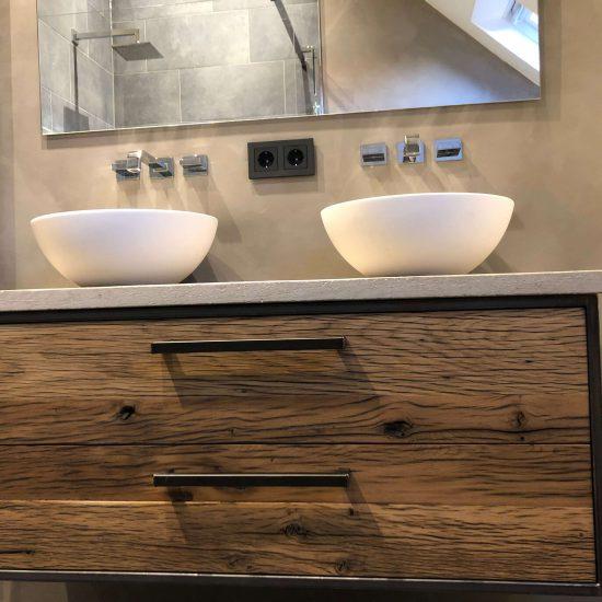 Badkamer wagondelen en staal